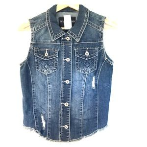 NWT Maurices Jean Vest SZ: Small